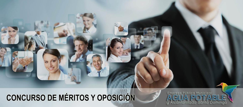 concursos merito y oposición