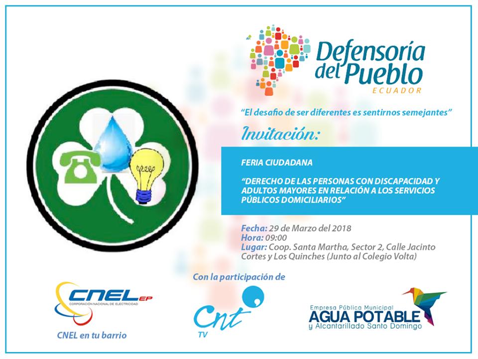 Feria Interinstitucional de Servicios Públicos