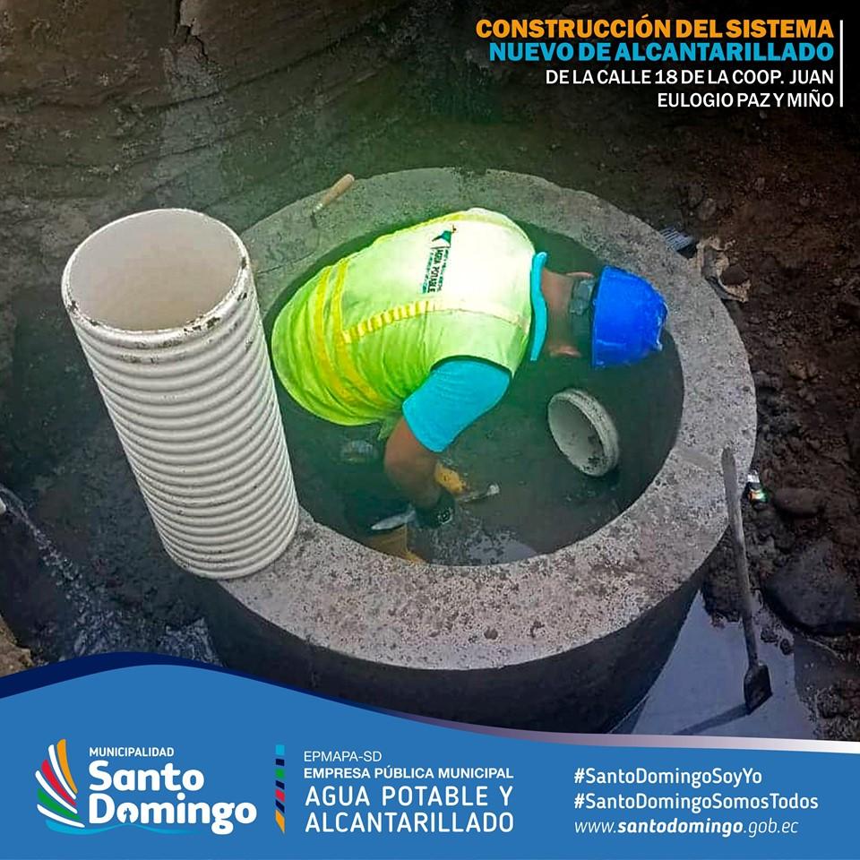 CONSTRUCCIÓN DEL SISTEMA NUEVO DE ALCANTARILLADO DE LA CALLE 18