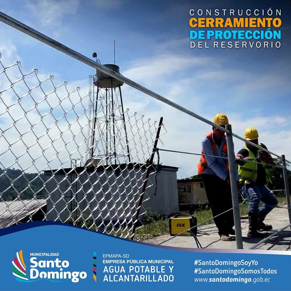 CONSTRUCCIÓN CERRAMIENTO DE PROTECCIÓN DEL RESERVORIO